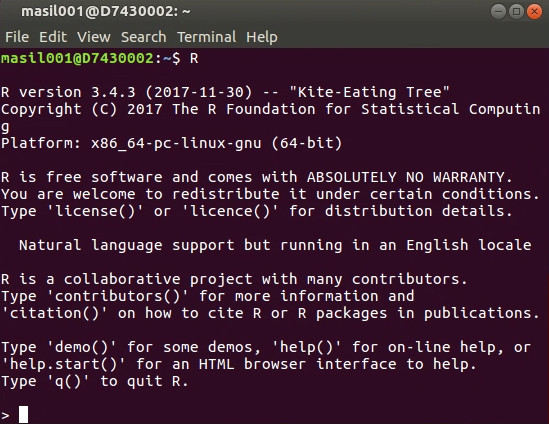 Week 1, Lesson 4: Getting started with Linux, the terminal
